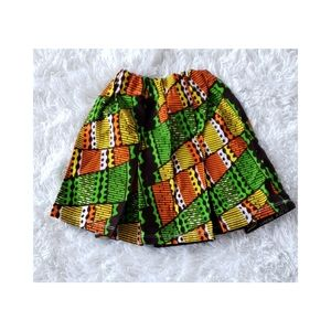 New African Print Toddler Girls Skirt